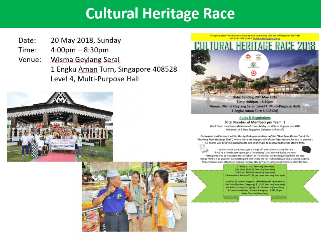 Cultural Heritage Race 2018