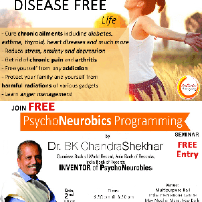 FREE Seminar with Dr. B.K. Chandrashekhar