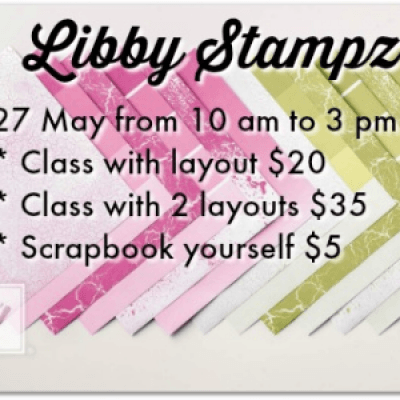 May Scrapbook Class
