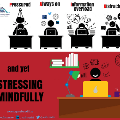 Stressing Mindfully (3-hour Weekly sessions for a month)