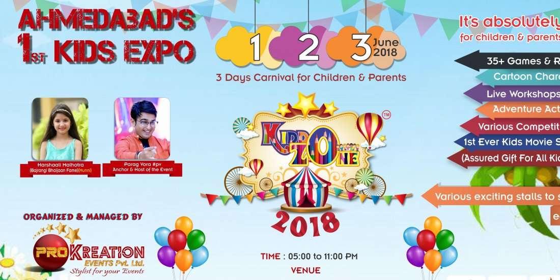 KiddoZone 2018 (1st Time In Ahmedabad)