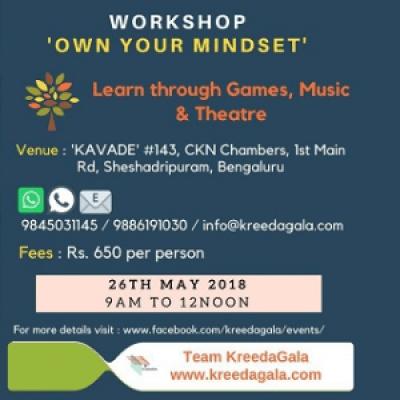Workshop - Own Your Mindset
