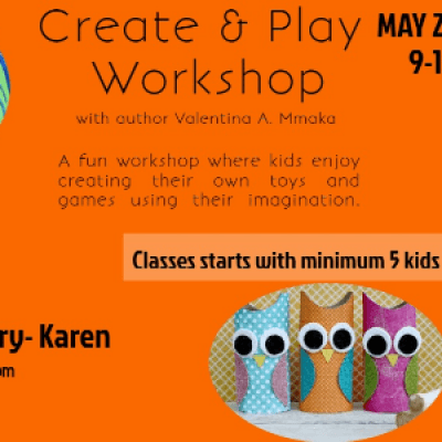 CREATE AND PLAY WORKSHOP FOR KIDS