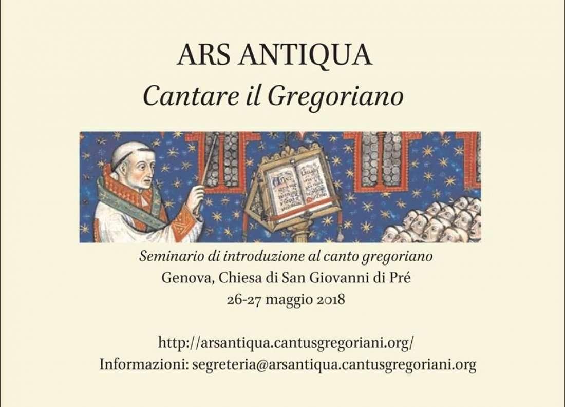 Cantare il Gregoriano seminario