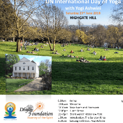 The journey within... - International Day of Yoga 2018 with Guru Yogi Ashwini