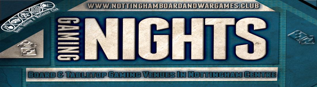 Nottingham Tabletop Gaming Night