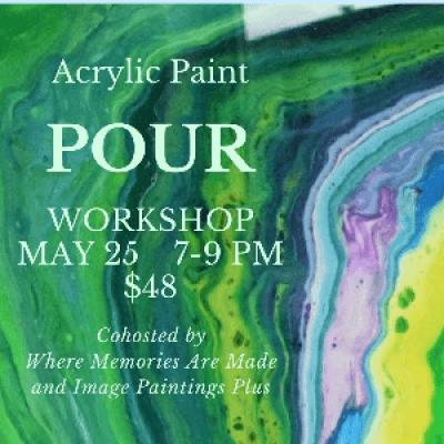 Paint Pour Workshop - Basics
