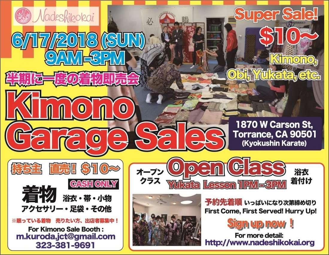 Kimono Garage Sales