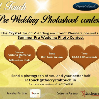 The Crystal Touch Summer Pre Wedding Contest