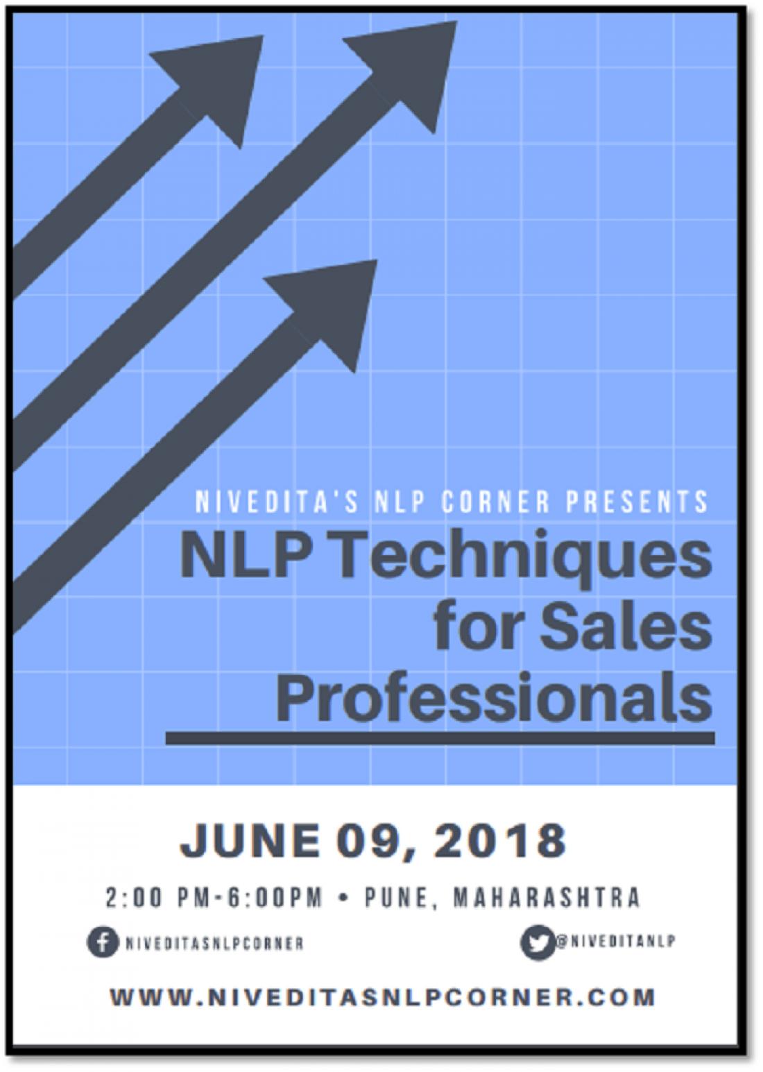 Nlp Techniques For Sales - NLP Practicioner