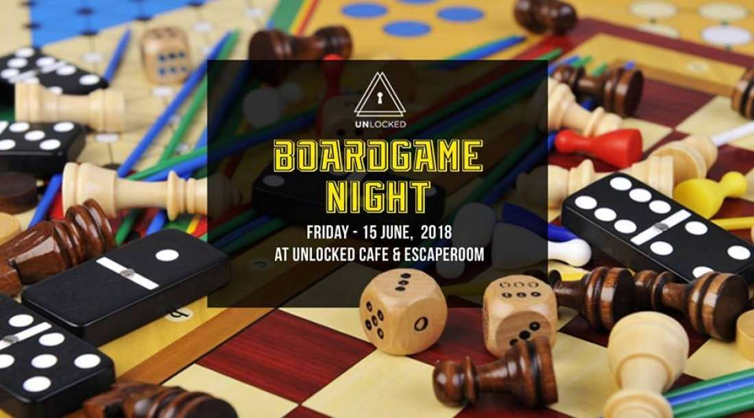 June Board Game Night at Unlocked