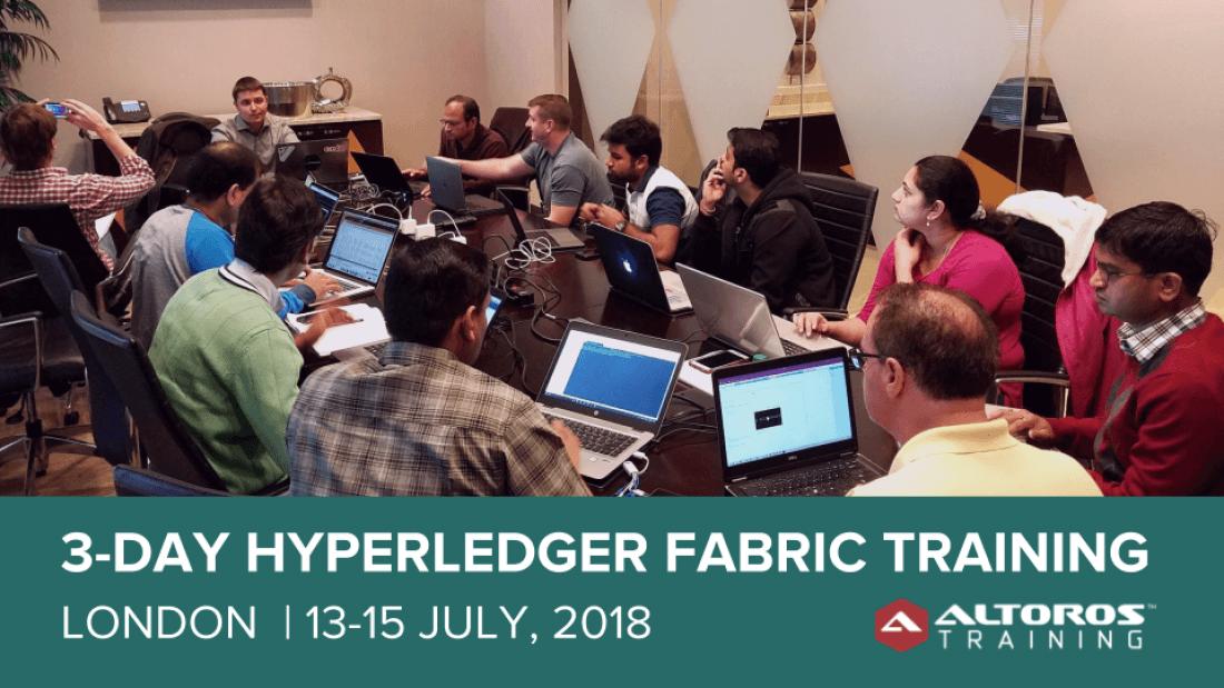 3-day Hyperledger Fabric Training - London