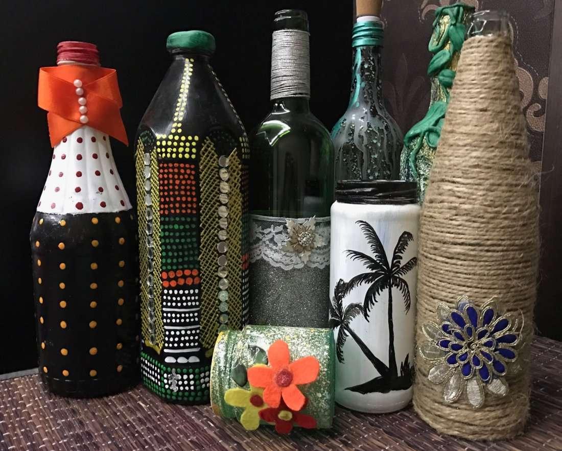Bottle Art workshop