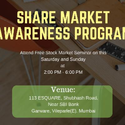 Free Stock Market Awareness Program  Mumbai