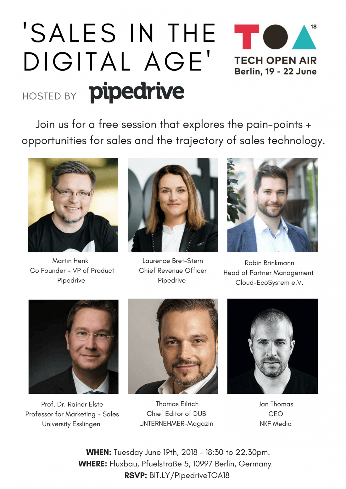 Sales in the Digital Age  Hosted by Pipedrive