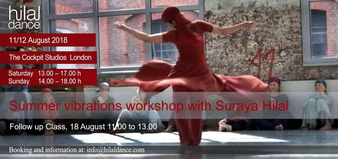 Weekend Dance Workshop Suraya Hilal Summer Vibrations