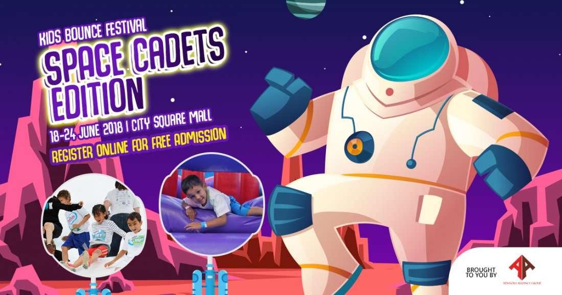 Space Cadets Kids Bounce Festival Singapore