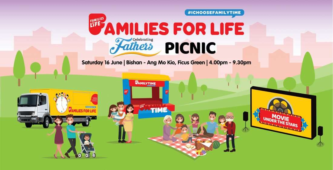 Families for Life Celebrating Fathers Picnic