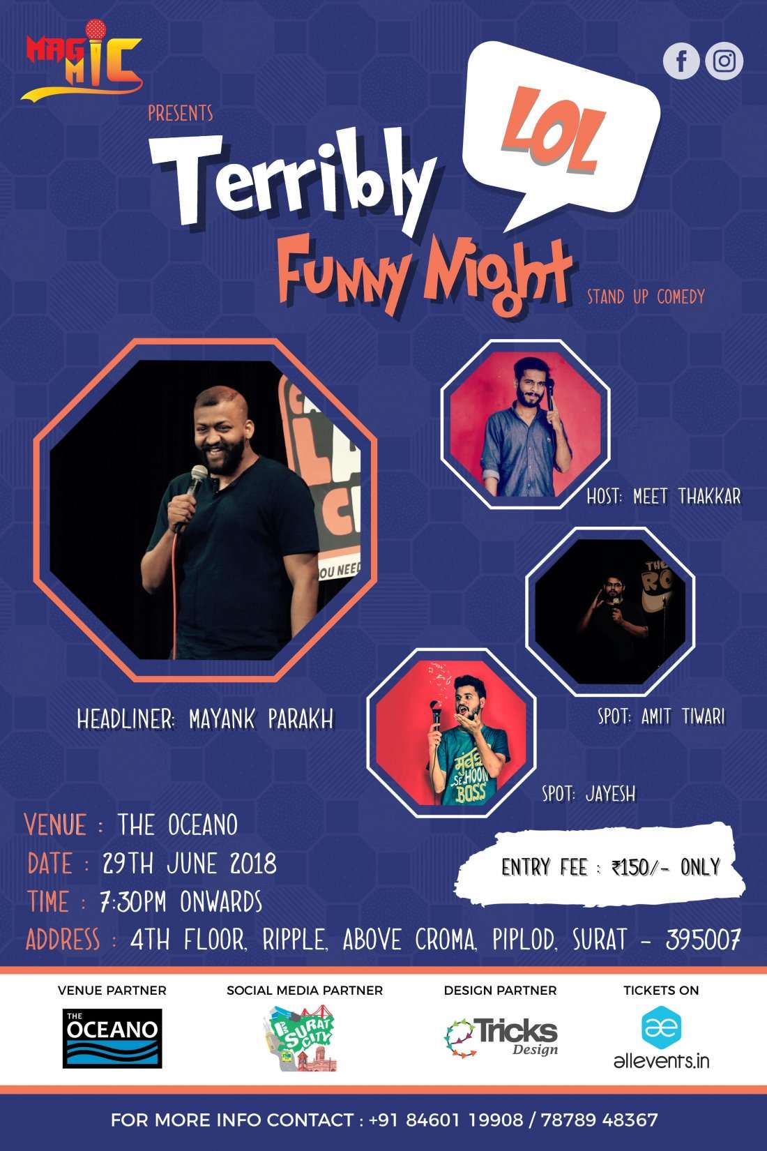 Terribly Funny Night - Standup Comedy