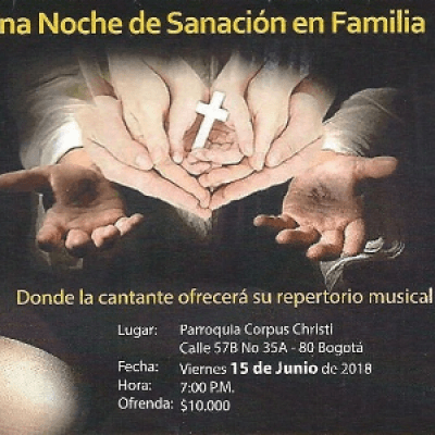 Noche de Sanacin Familiar