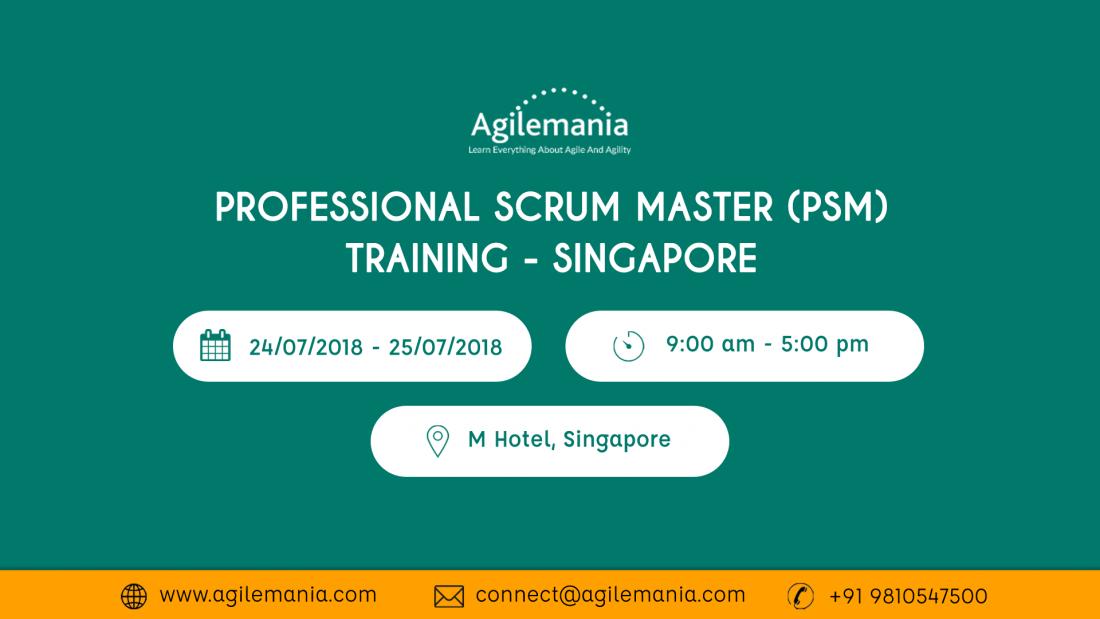 Professional Scrum Master (PSM) Training - Singapore