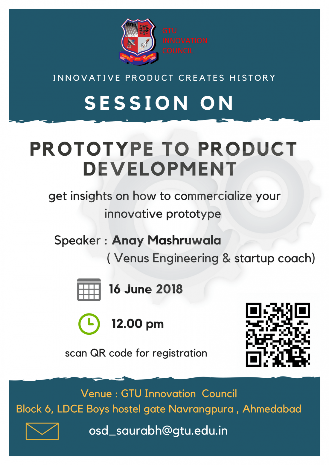 Prototype to Product Development