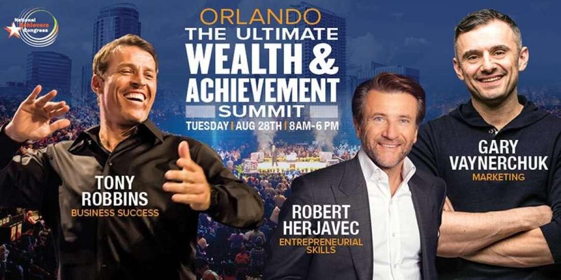 Tony Robbins and Gary Vaynerchuk Live Orlando