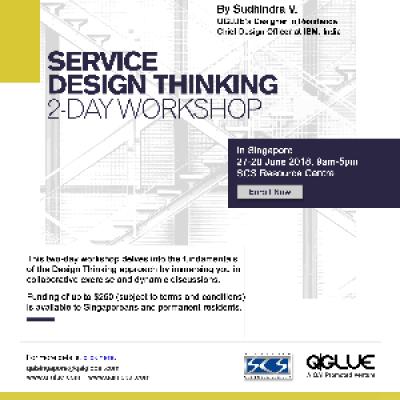 Service Design Thinking Workshop  First in Singapore