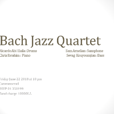 Bach Jazz Quartet