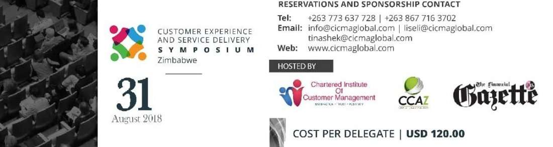 Customer Experience and Service Delivery Symposium