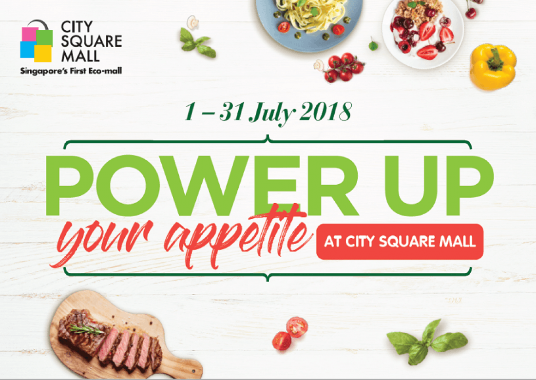 Power Up Your Appetite at City Square Mall