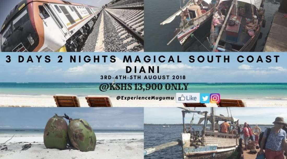3 Days 2 Nights Magical South Coast Diani