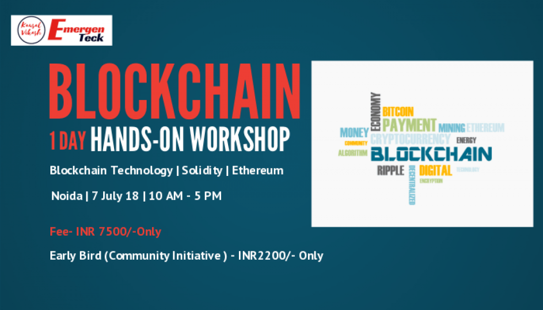 1 Day Hands-on Workshop on Blockchain Technology  Ethereum  Solidity