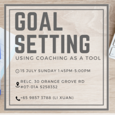 Goal Setting using Coaching as a Tool