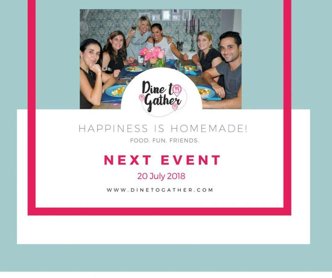 EVENT is closed Food. Fun. Friends. DINE TO GATHER