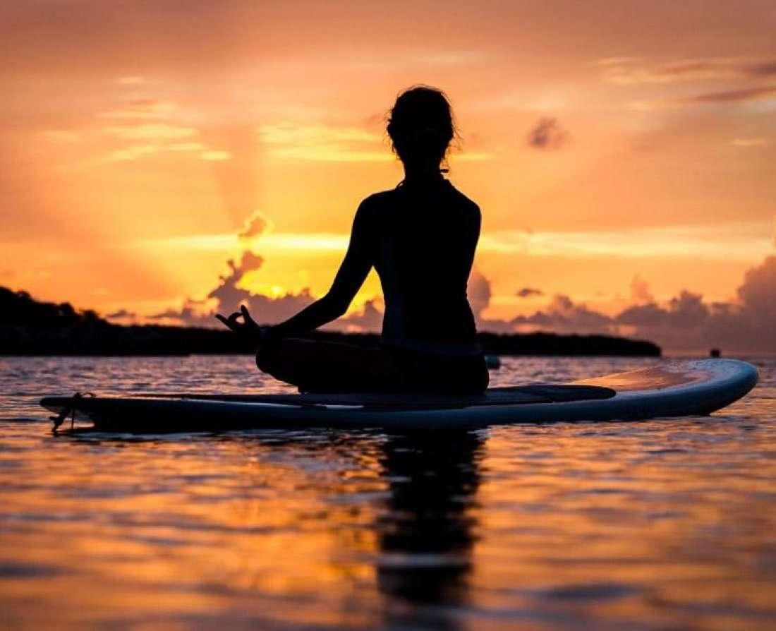 Paddle Board Meditation