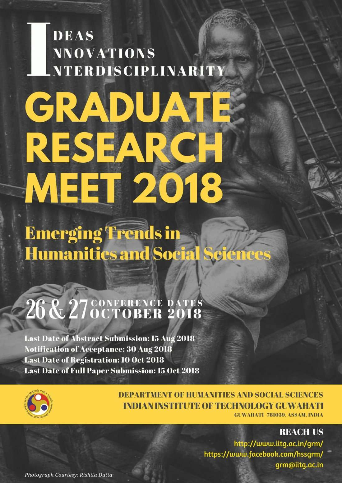 Graduate Research Meet 2018 IIT Guwahati