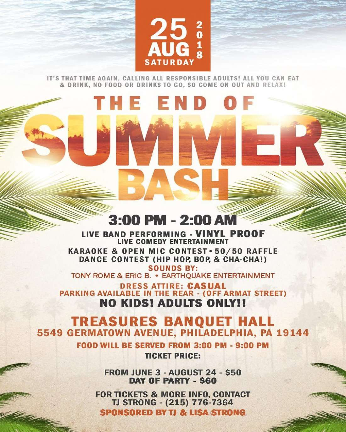 The End of the Summer Bash
