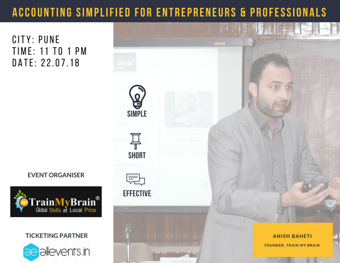 Accounting Simplified for Entrepreneurs & Professionals