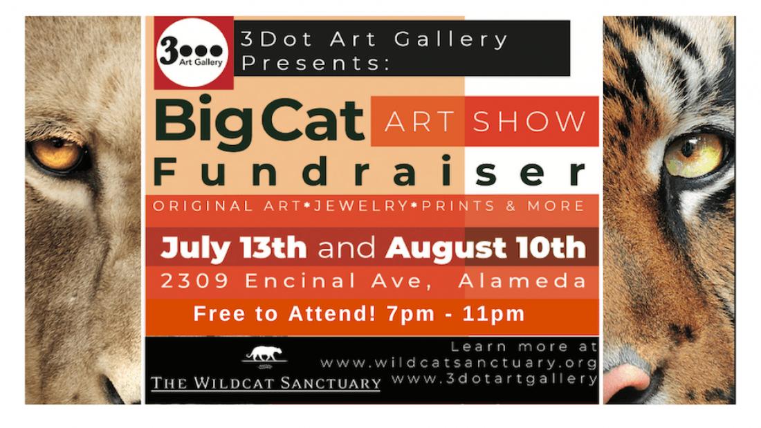 Big Cat Art Show Fundraiser (FREE)