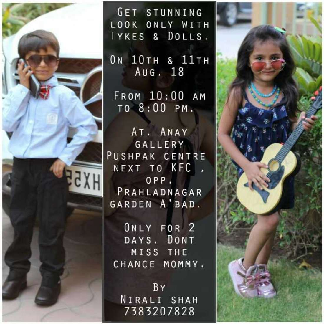 Rakhi bonanza by tykes & dolls the most trendy and comfortable kids wear
