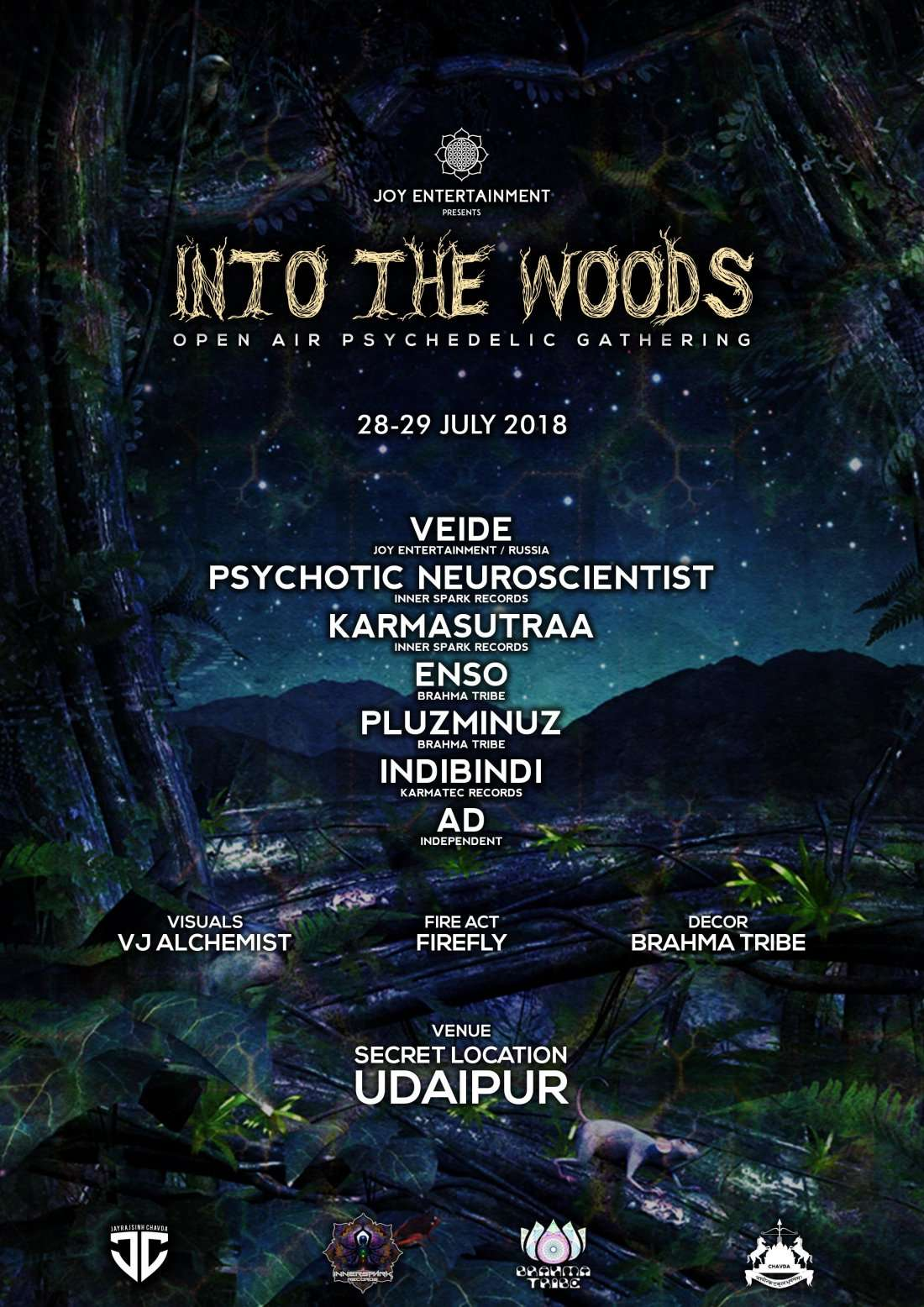 Into the Woods Open Air Psychedelic Gathering