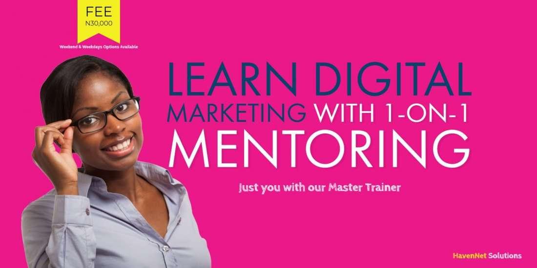 1-on-1 Mentoring in Digital Marketing