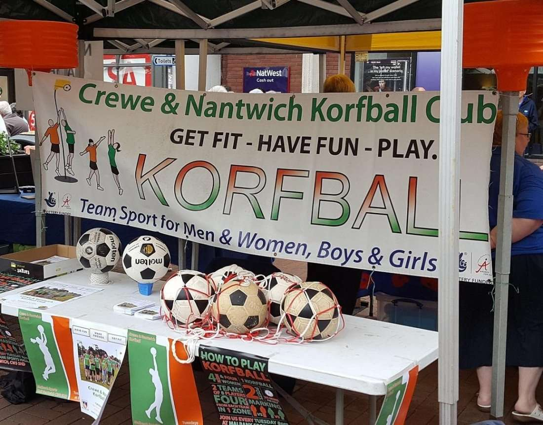 Nantwich Societies Spectacular - find out about korfball