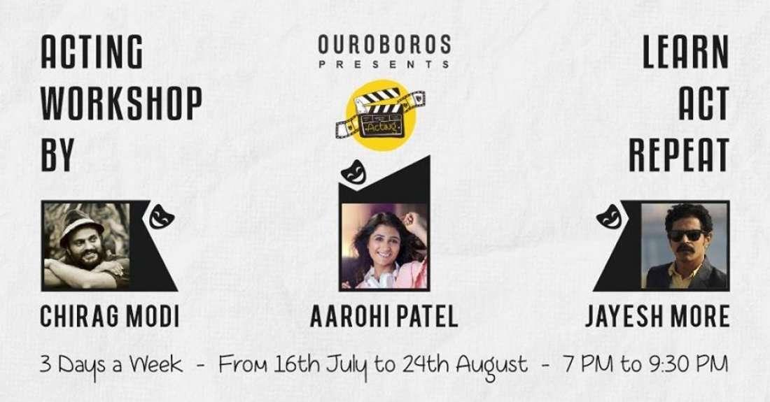 Acting workshop by Chirag Modi