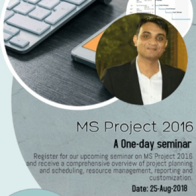 MS Project 2016 - A one day seminar
