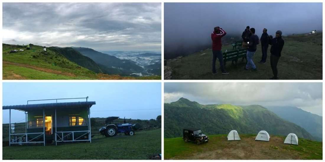 Mountain Camp Vagamon and Waterfall Visit by Kerala Weekend Planner