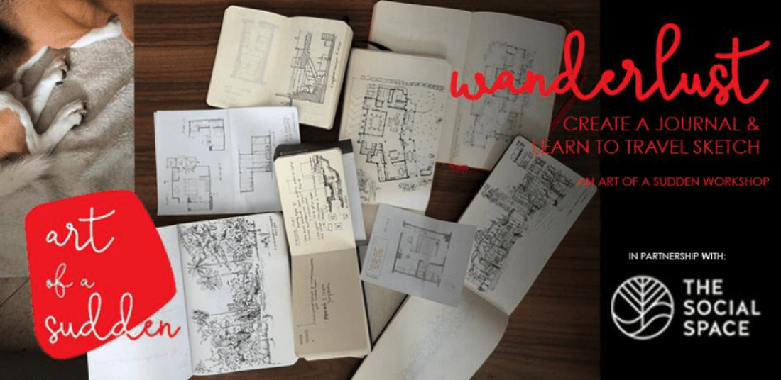 Wanderlust Create a Journal & Learn to Travel Sketch