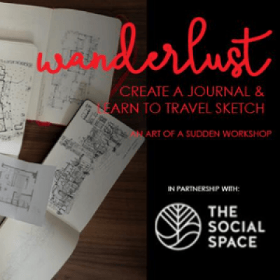 Wanderlust Create a Journal &amp Learn to Travel Sketch