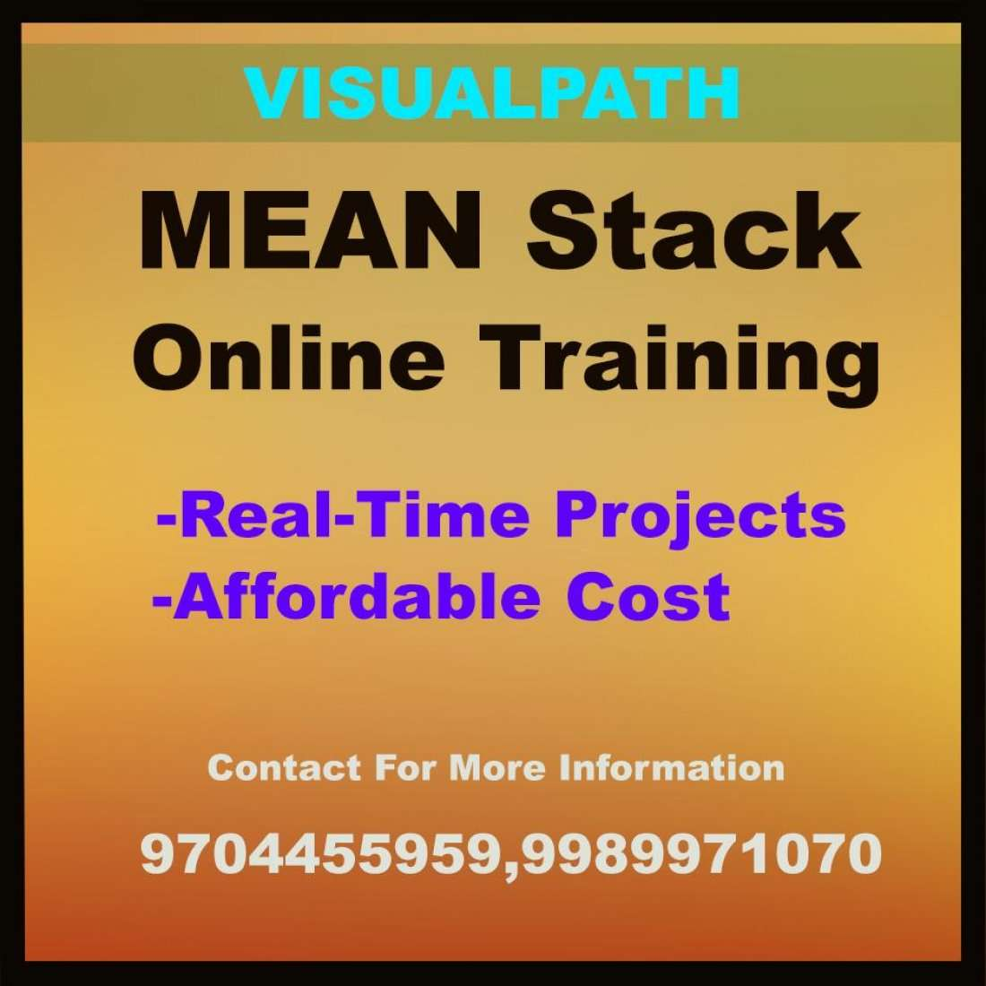 MEAN Stack Training In Hyderabad With Affordable Cost At